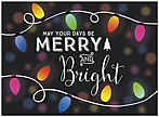 Merry & Bright Holiday Card H6143U-A