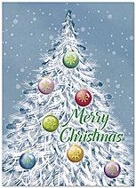 Graphic Christmas Card H6145D-A