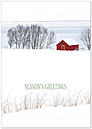 Peaceful Prairie Holiday Card H6148KW-AA