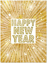 Happy New Year Card H6155U-AA