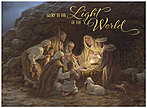 Light of the World Christmas Card H6156U-AA