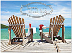 Relaxing Holiday Card H6158U-AA