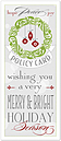 Merry & Bright Policy Card H6160L-A