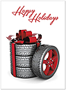 Holiday Rims Card H6163U-A