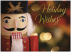 Nutcracker Holiday Card D6168U-A
