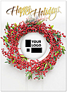 Casual Wreath Die Cut Card H6180U-AAA
