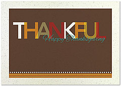 Thankful Thanksgiving Card H6074KW-AA
