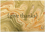 Fall Swirl Thanksgiving Card H6075KW-AA