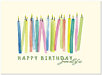 Candles From All Birthday Card A7010S-W