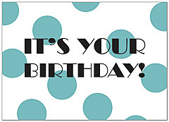It's Your Birthday Card A7028D-Y