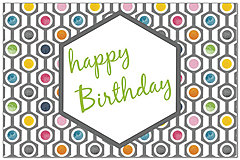 Retro Birthday Postcard A7029P-ZZ