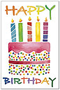 Painted Cake Postcard A7030P-ZZ