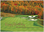 Autumn Golf Birthday Card A7037U-X