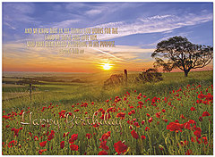 Sunset Blessings Birthday Card A7041U-X