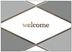 Argyle Welcome Card A7053D-X