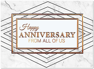 Anniversary From All Card A7054U-X