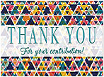 Thank You Pattern Card A7120U-X