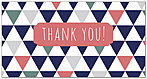Geometric Thank You Card A7123T-Z