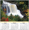 Waterfall Calendar Card C7103U-AA