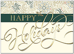 Holiday Greetings Card H7139G-AAA