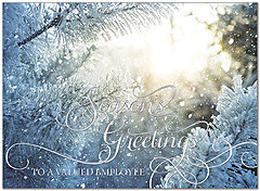 Employee Evergreen Holiday Card H7144S-AAA