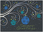 Ornamental Greetings Holiday Card H7146S-AAA