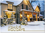 Festive Holiday Home Card H7153U-AA