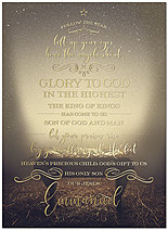 God's Gift Christmas Card H7159U-AA
