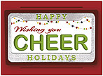 Auto Cheer Holiday Card H7173U-AA