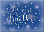 New Year Cheer Card H7177U-AA