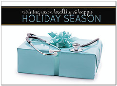 Healthy Holidays Card D7180U-A