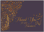 Elegant Thank You Card H7070G-AAA