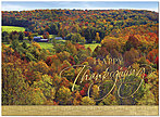 Scenic Autumn Thanksgiving Card H7071G-AAA