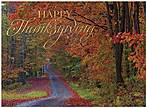 Red Maple Path Thanksgiving Card H7074G-AAA
