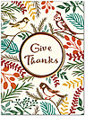 Nature Thanks Thanksgiving Card H7084U-AA