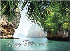 Retirement Getaway Card A7043U-X