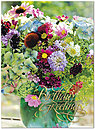 Birthday Bouquet Card A8012U-X