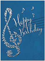 Musical Birthday Card A8015U-X