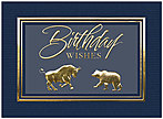 Financial Birthday Card A8018U-X