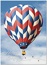 Up and Away Birthday Card A8026U-Y