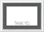 Corporate Border Thank You Card A8044D-X
