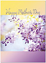 Floral Branch Mother's Day Card A8053U-X