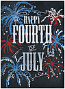 Fireworks Fourth of July Card A8060U-X