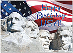 Majestic Heritage 4th of July Card A8061U-Y