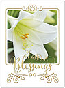 Easter Lily Card A8062U-X