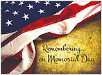 Remembering Memorial Day Card D8063U-Y