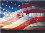 Honor Celebrate Remember Card A8064U-X