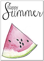 Summer Watermelon Card D8073D-X