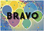 Bravo Balloons Card D8084D-Y