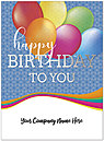 Balloons Name Card D8160U-4W